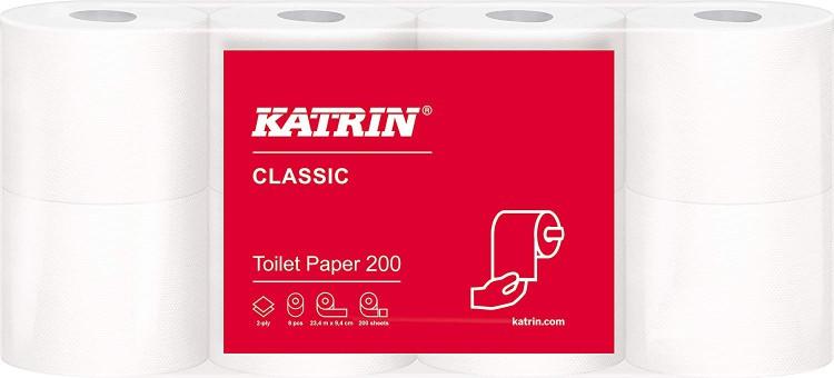 TP Katrin 2vr. 23.5m 200útržků | Papírové a hygienické výrobky - Toaletní papíry - Vícevrstvý