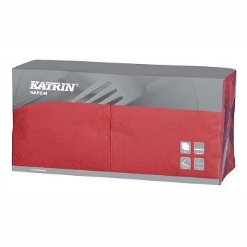 Ubrousek 40x40 2V červené 250ks | Papírové a hygienické výrobky - Ubrousky - Vícevrstvé