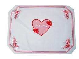 Prostírka 30x40 Valentine 100ks | Duni - Ubrusy, šerpy, prostírky - Prostírky & podložky dortové