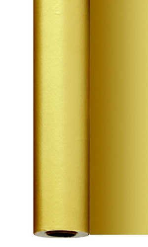 Ubrus v roli 1,2x25m Zlatý omyvatelný | Duni - Banketové role, sukně - Banketové role
