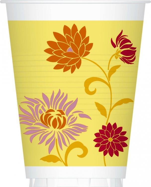Kelímek papírový 0,2l Capri Yellow 12ks | Duni - Rautové nádobí - Párty nádobí