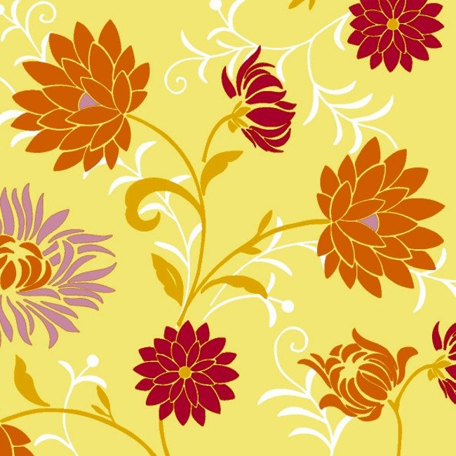 Ubrousek 24x24 3V Capri Yellow 20ks | Duni - Ubrousky, kapsy na příbory - 3 vrstvé ubrousky