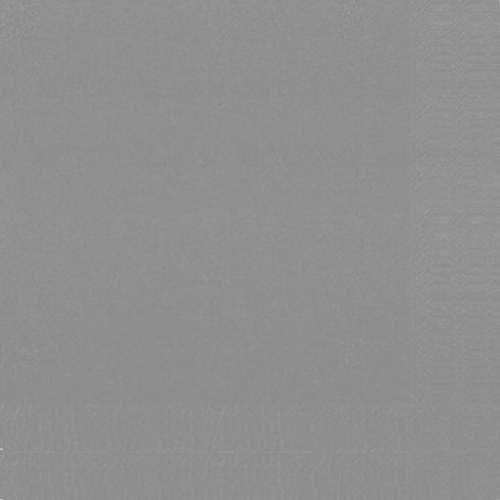 Ubrousek 33x33 2V Šedý 125ks | Duni - Ubrousky, kapsy na příbory - 2 vrstvé ubrousky