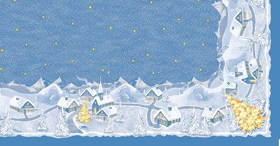 Ubrus 84x84 Silent Night neomyvatelný | Duni - Ubrusy, šerpy, prostírky - Neomyvatelný ubrus