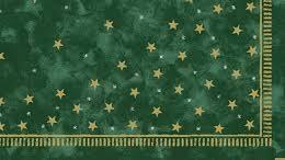 Ubrus 84x84 DSilk Stella Green omyvatel | Duni - Ubrusy, šerpy, prostírky - Omyvatelný ubrus