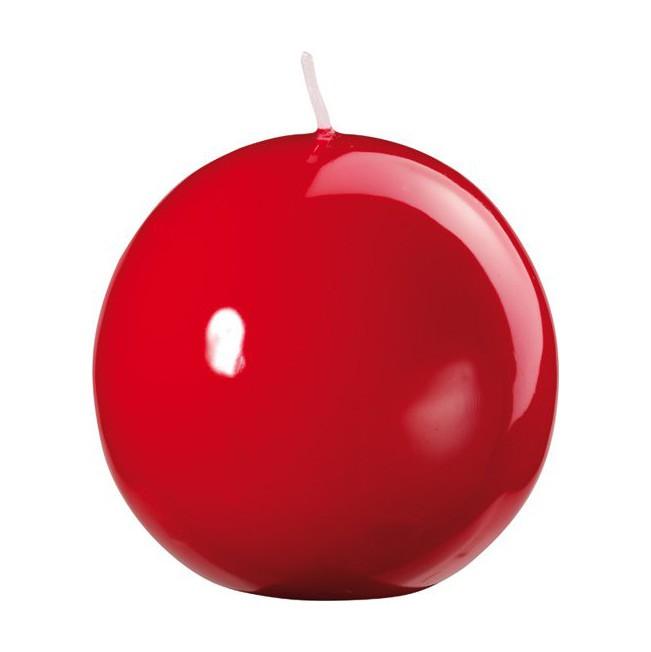 Svíčka 8cm Shiny Red 4ks | Duni - Svíčky, svícny, kroužky - Svíčky