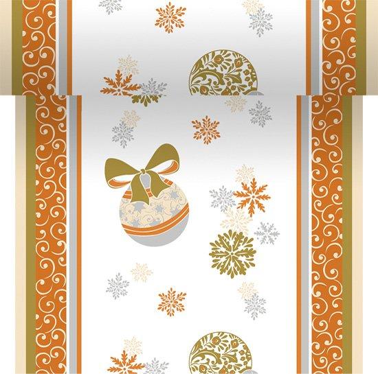 Téte-a-Téte 0,4x24m Christmas Charme | Duni - Ubrusy, šerpy, prostírky - Šerpy