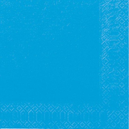 Ubrousek 33x33 2V Pacific Blue 125ks   Duni - Ubrousky, kapsy na příbory - 2 vrstvé ubrousky