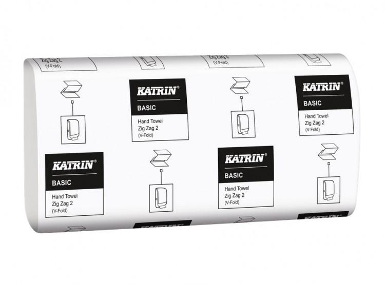 Pap.ručníky Z-Z Katrin Basic 2920ks | Papírové a hygienické výrobky - Utěrky a ručníky