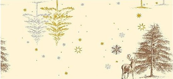 Ubrus 84x84 Winter neomyvatelný | Duni - Ubrusy, šerpy, prostírky - Neomyvatelný ubrus
