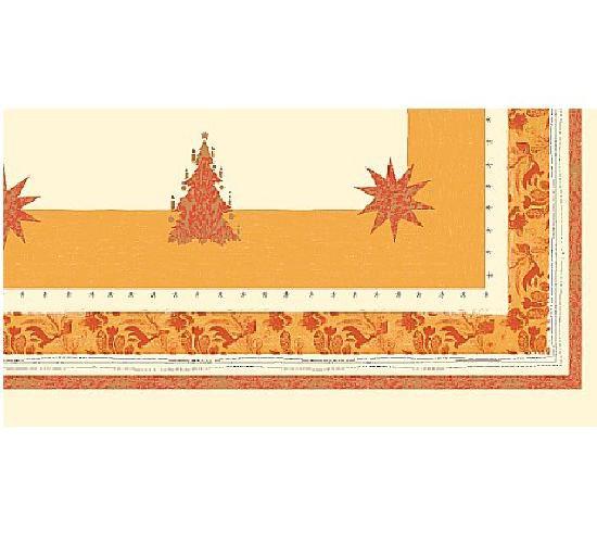 Ubrus 84x84 Buon Natale terra neomyvat. | Duni - Ubrusy, šerpy, prostírky - Neomyvatelný ubrus