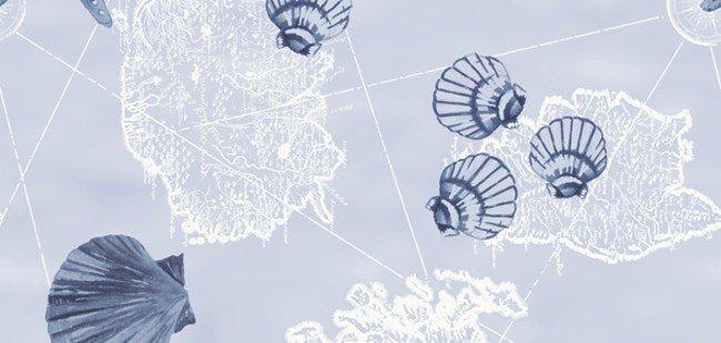 Ubrus 84x84 DCel Nautic neomyvatelný | Duni - Ubrusy, šerpy, prostírky - Neomyvatelný ubrus