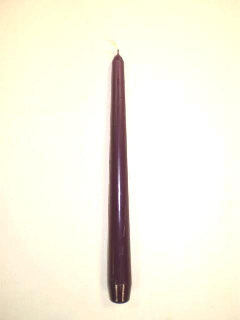 Svíčka 25cm Švestková 1ks | Duni - Svíčky, svícny, kroužky - Svíčky