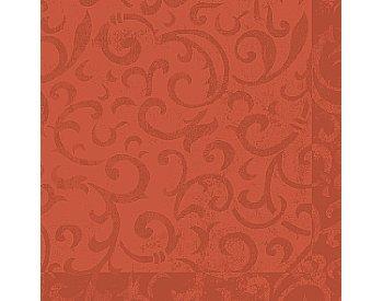 Ubrousek 40x40 DNL Sarala Mandarin 50ks | Duni - Ubrousky, kapsy na příbory - Dunilin 40x40