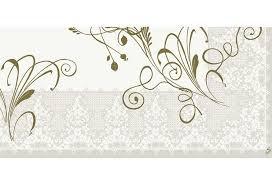 Ubrus 84x84 DCel Lea White neomyvatelný | Duni - Ubrusy, šerpy, prostírky - Neomyvatelný ubrus