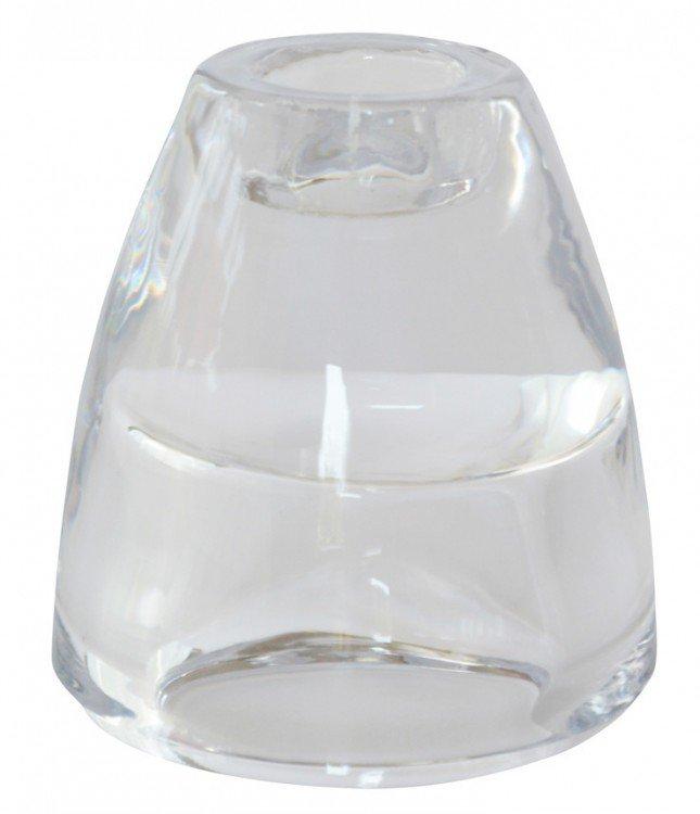 Svícen 2v1 pro Antické a čajové svíčky | Duni - Svíčky, svícny, kroužky - svícny & kroužky