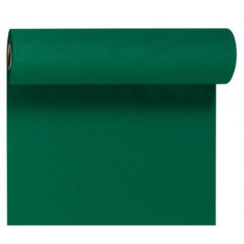 Téte-a-Téte 0,4x24m Tmavě zelená | Duni - Ubrusy, šerpy, prostírky - Šerpy