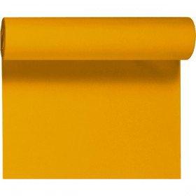 Téte-a-Téte 0,4x24m Světle oranžová | Duni - Ubrusy, šerpy, prostírky - Šerpy