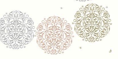 Ubrus 84x84 DCel Festive Mood White | Duni - Ubrusy, šerpy, prostírky - Neomyvatelný ubrus
