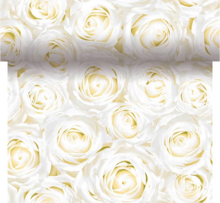 Téte-a-Téte 0,4x4,8m White Dreams | Duni - Ubrusy, šerpy, prostírky - Šerpy