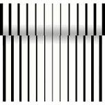 Téte-a-Téte 0,4x24m Black x White | Duni - Ubrusy, šerpy, prostírky - Šerpy