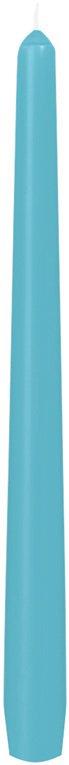 Svíčka 25cm Mentolově modrá | Duni - Svíčky, svícny, kroužky - Svíčky