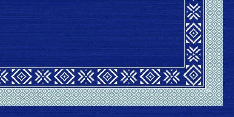Ubrus 84x84 DCel Winter Feeling Blue | Duni - Ubrusy, šerpy, prostírky - Neomyvatelný ubrus
