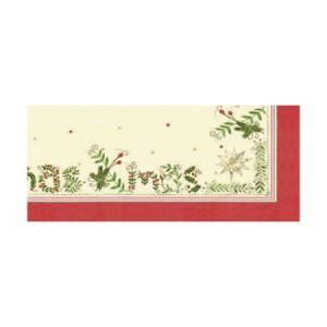 Ubrus 84x84 DCel Christmas Gift Cr neom. | Duni - Ubrusy, šerpy, prostírky - Neomyvatelný ubrus