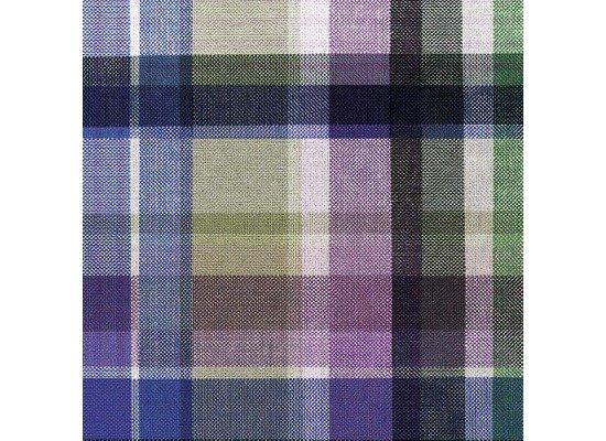 Ubrousek 33x33 3V Purple Check 20ks | Duni - Ubrousky, kapsy na příbory - 3 vrstvé ubrousky