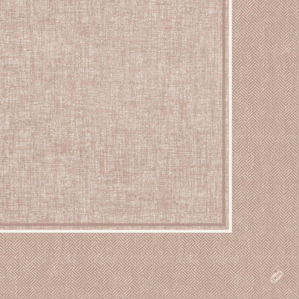 Ubrousek 40x40 DNL Lina Greige 50ks | Duni - Ubrousky, kapsy na příbory - Dunilin 40x40