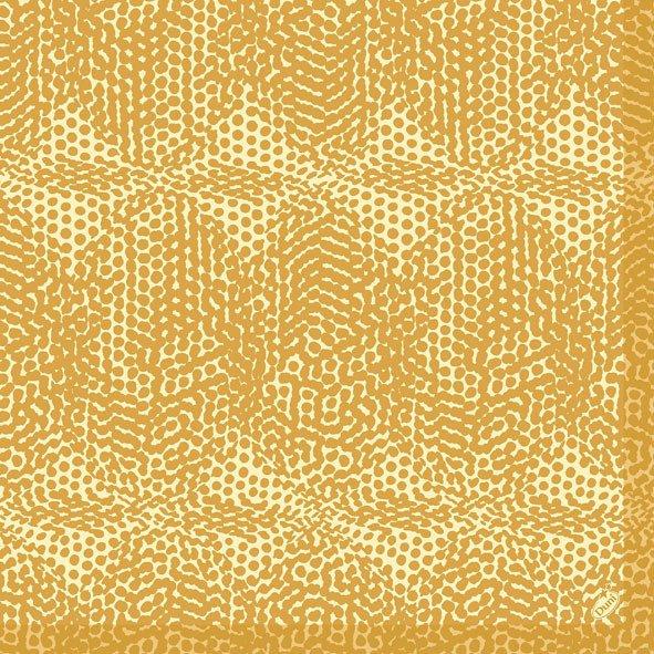 Ubrousek 40x40 DNL Organic Honey 50ks | Duni - Ubrousky, kapsy na příbory - Dunilin 40x40