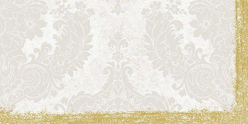 Ubrus 84x84 DSilk Royal White omyvatelný | Duni - Ubrusy, šerpy, prostírky - Omyvatelný ubrus