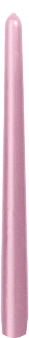 Svíčka 25cm Jemně růžová | Duni - Svíčky, svícny, kroužky - Svíčky
