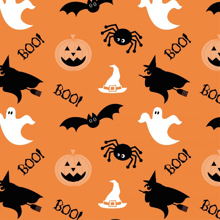 Ubrousek 33x33 3V Halloween 20ks | Duni - Ubrousky, kapsy na příbory - 3 vrstvé ubrousky
