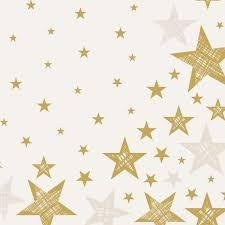 Ubrousek 40x40 Dlin Shining Star 12ks | Duni - Ubrousky, kapsy na příbory - Dunilin 40x40