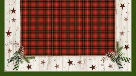 Ubrus 84x84 DCel Naturally Christmas | Duni - Ubrusy, šerpy, prostírky - Neomyvatelný ubrus