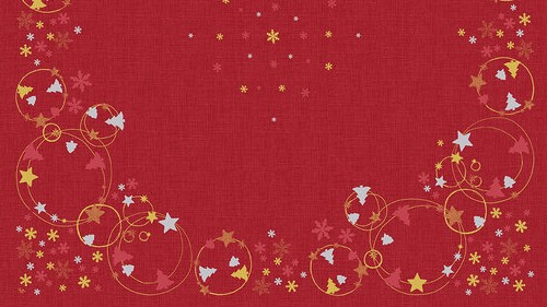 Ubrus 84x84 DCel Season Joy neomyvatelný | Duni - Ubrusy, šerpy, prostírky - Neomyvatelný ubrus