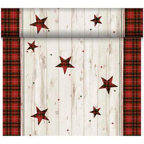 Téte-a-Téte 0,4x24m Naturally Christmas | Duni - Ubrusy, šerpy, prostírky - Šerpy