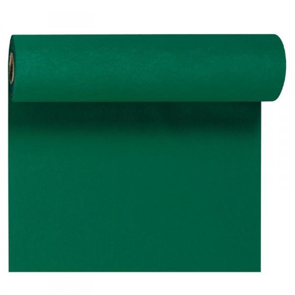 Téte-a-Téte 0.4x24m Tmavě zelená | Duni - Ubrusy, šerpy, prostírky - Šerpy