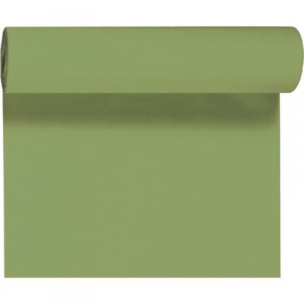 Téte-a Téte 0.4x24m Listově zelená | Duni - Ubrusy, šerpy, prostírky - Šerpy