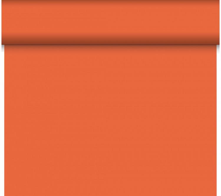 Téte-a-Téte 0.4x24m Mandarin | Duni - Ubrusy, šerpy, prostírky - Šerpy
