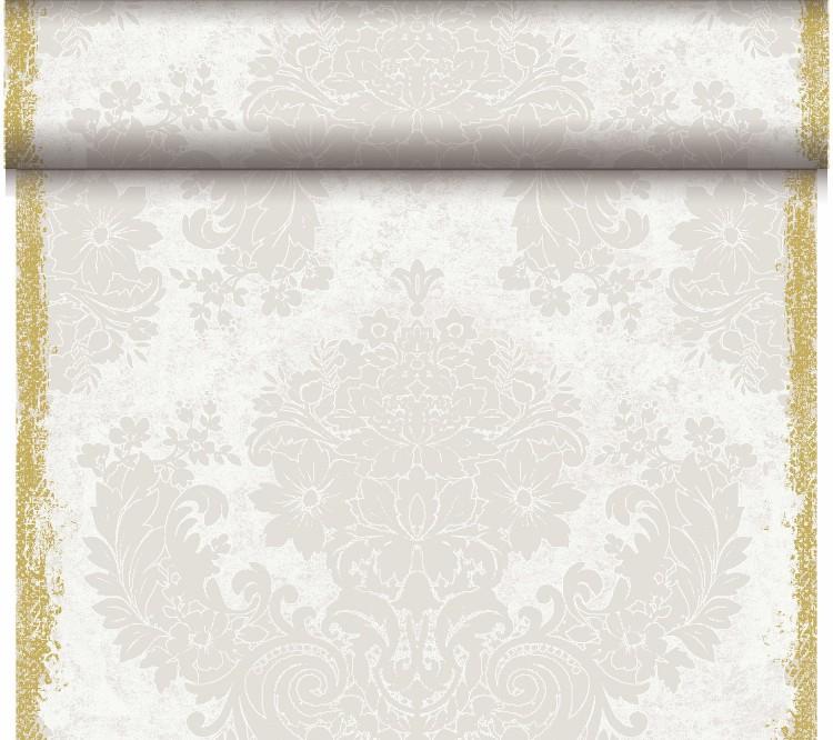 Téte-a-Téte 0.4x24m Royal White | Duni - Ubrusy, šerpy, prostírky - Šerpy