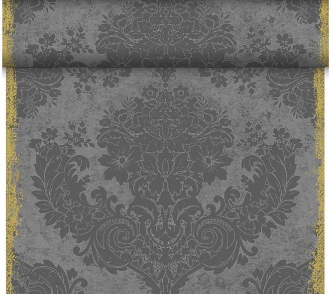 Téte-a-Téte 0,4x24m Royal Granite Grey | Duni - Ubrusy, šerpy, prostírky - Šerpy