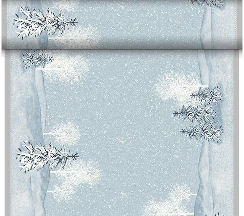 Téte-a-Téte 0.4x24m Winter Mornings | Duni - Ubrusy, šerpy, prostírky - Šerpy