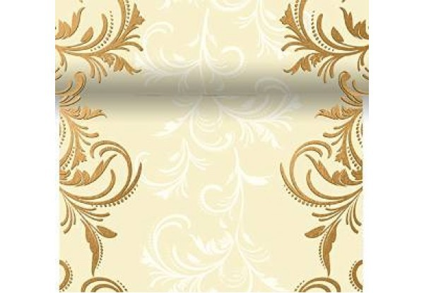 Téte-a-Téte 0.4x4.8m Grace cream | Duni - Ubrusy, šerpy, prostírky - Šerpy