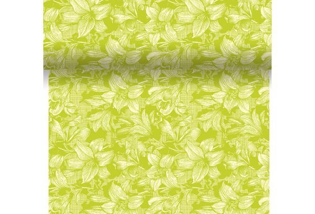 Téte-a-Téte 0.4x4.8m Firenze Lime | Duni - Ubrusy, šerpy, prostírky - Šerpy