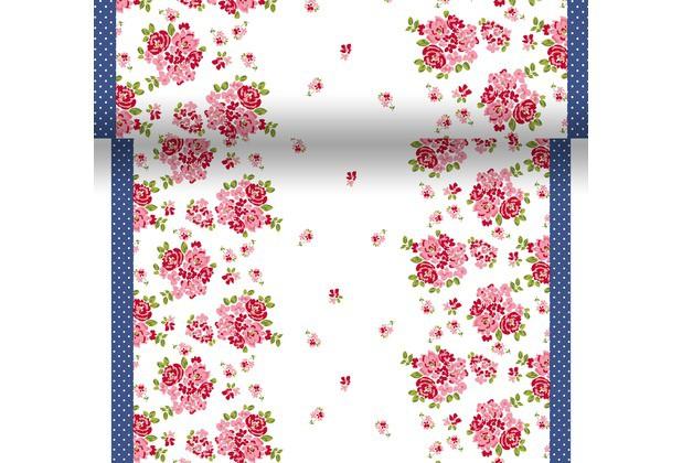 Téte-a-Téte 0.4x4.8m Sweet Roses | Duni - Ubrusy, šerpy, prostírky - Šerpy