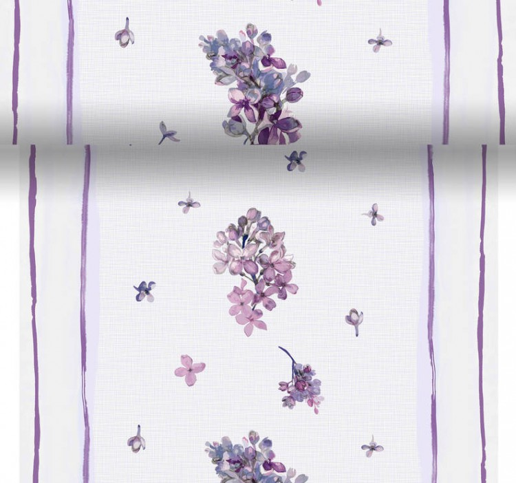 Téte-a-Téte 0.4x4.8m Sweet Butterfly lil | Duni - Ubrusy, šerpy, prostírky - Šerpy