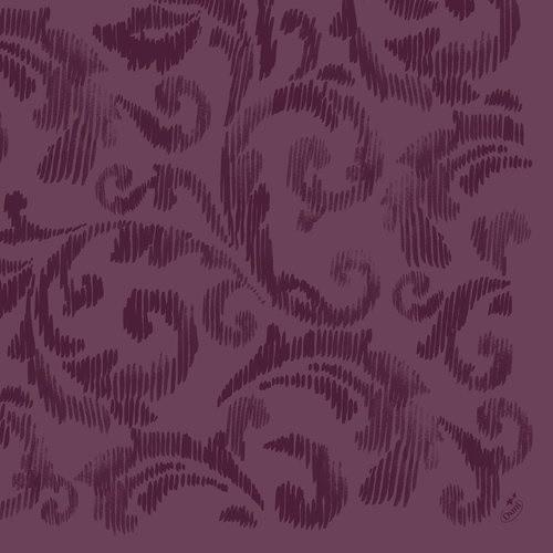 Ubrousek 40x40 Dlin Saphira Plum 45ks | Duni - Ubrousky, kapsy na příbory - Dunilin 40x40