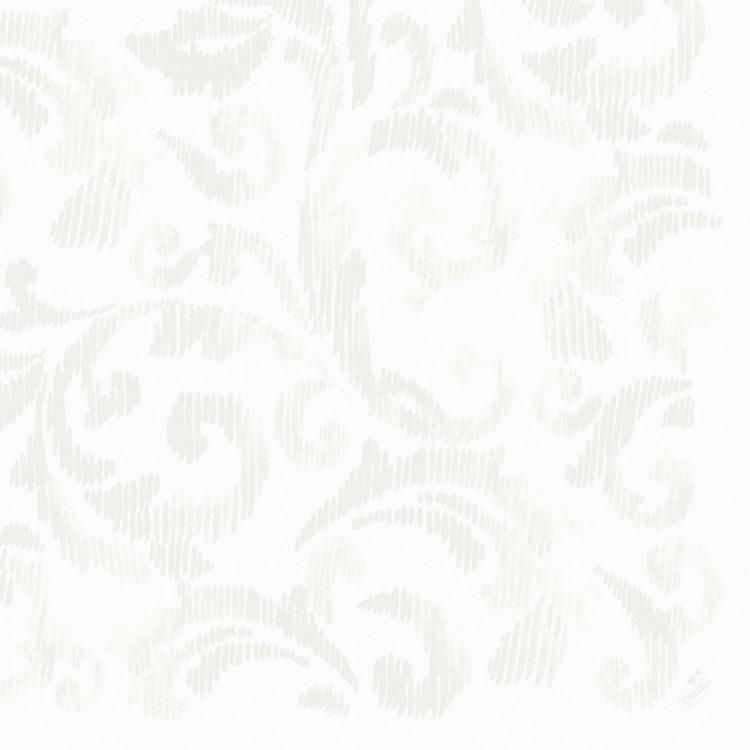 ubrousek 40x40 Dlin Saphira White 45ks | Duni - Ubrousky, kapsy na příbory - Dunilin 40x40